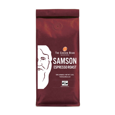 The Chosen Bean Samson Espresso Roast Ground Coffee