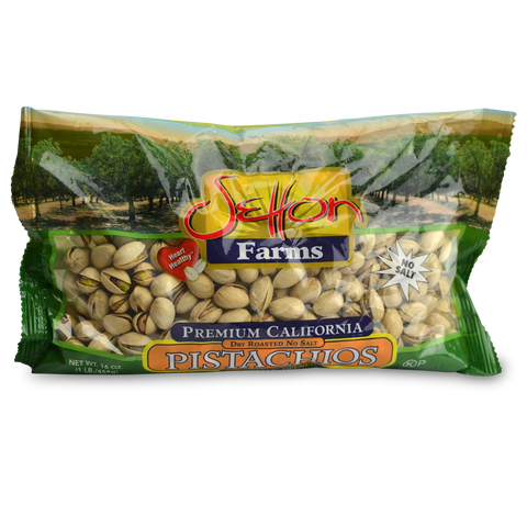 Setton Farms Dry-Roasted Unsalted Pistachios