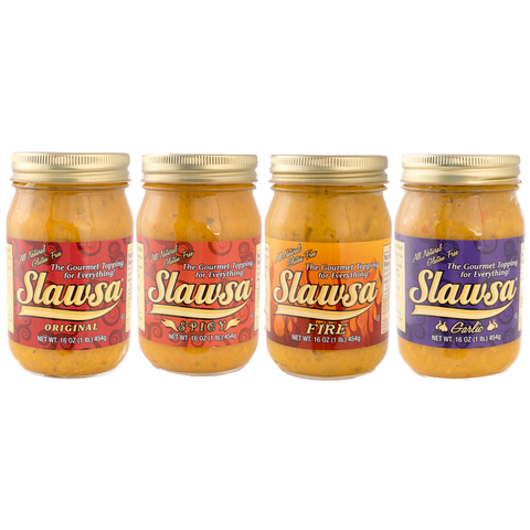 Kosher Slawsa - The Gourmet Topping for Everything