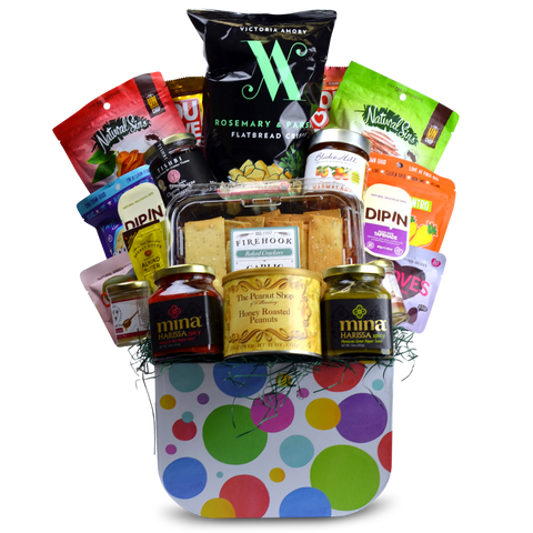 Snacker's Delight Gift Basket