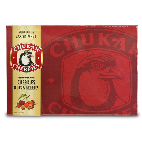 Chukar Sumptuous Assortment Chocolate Cherries Gift Box