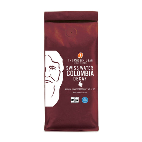 The Chosen Bean Columbian Origin Gourmet Decaf Ground Coffee