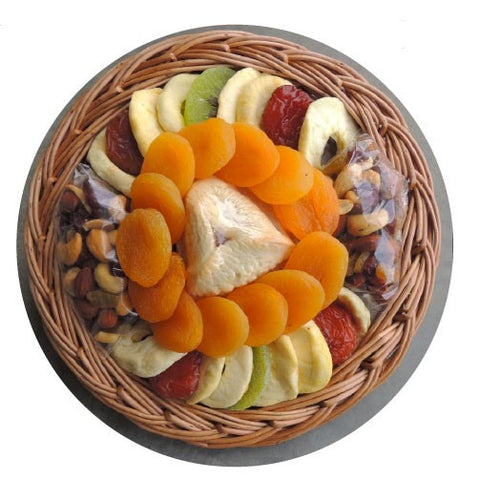 Dried Fruit, Nuts and Tart Gift Platter