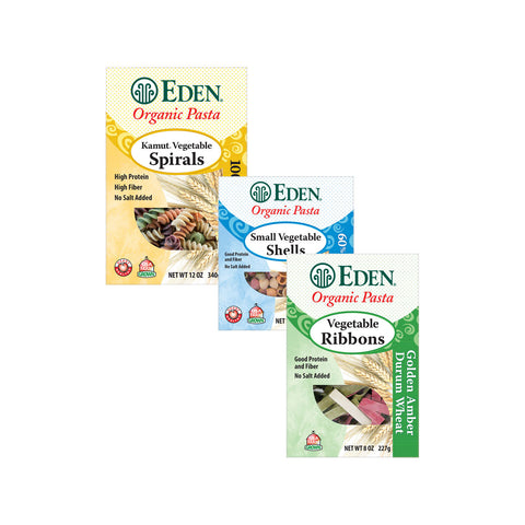 Kosher Eden Foods Organic Vegetable Pasta
