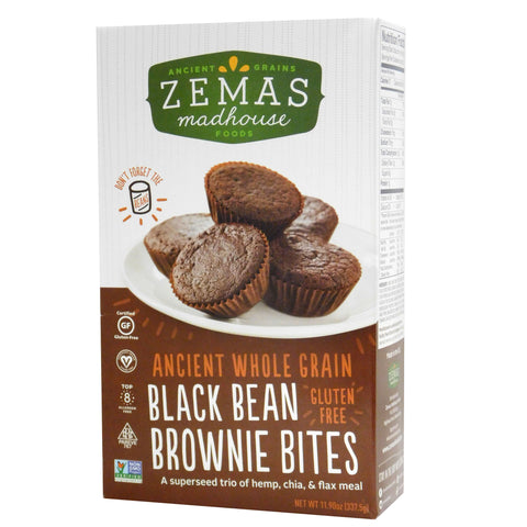 Kosher Zemas Black Bean Brownie Bites