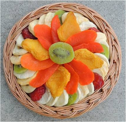 Medium Dried Fruit  - Kiwi Flower Platter