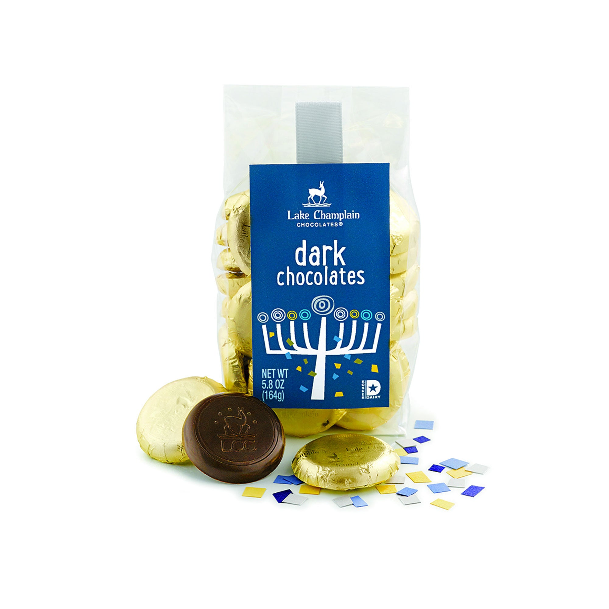 Lake Champlain Chocolate Chanukkah Chocolate Coins Gift – Crafted ...