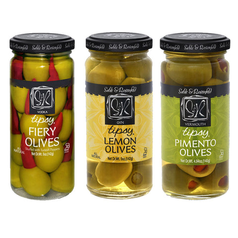 Kosher Sable & Rosenfeld Tipsy Olives