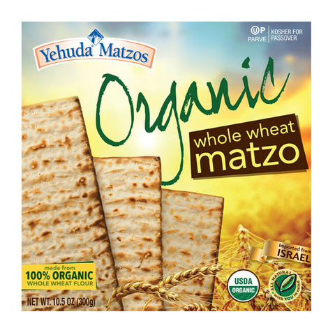 Yehuda Organic Whole Wheat Matza