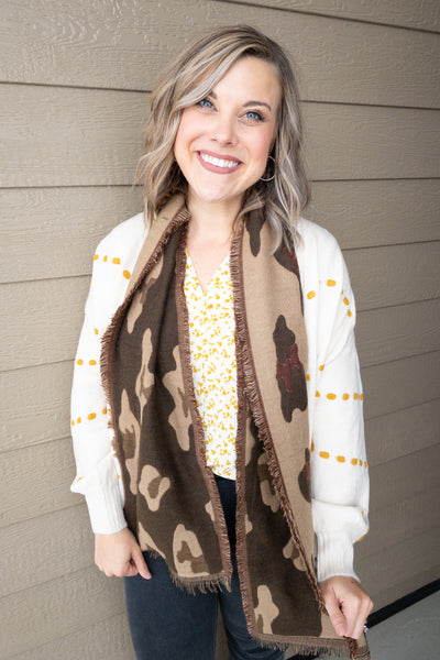 Two-Sided Printed Scarves