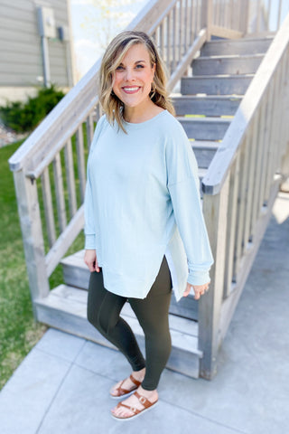 Weekend Essential Tunic Top
