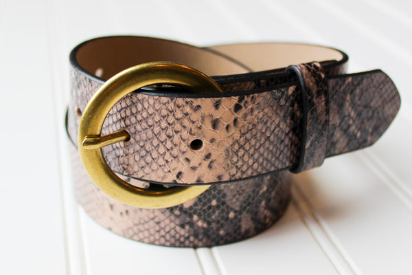 Printed Belt - Chic Avenue Boutique