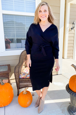 Sizzling Sweater Dress