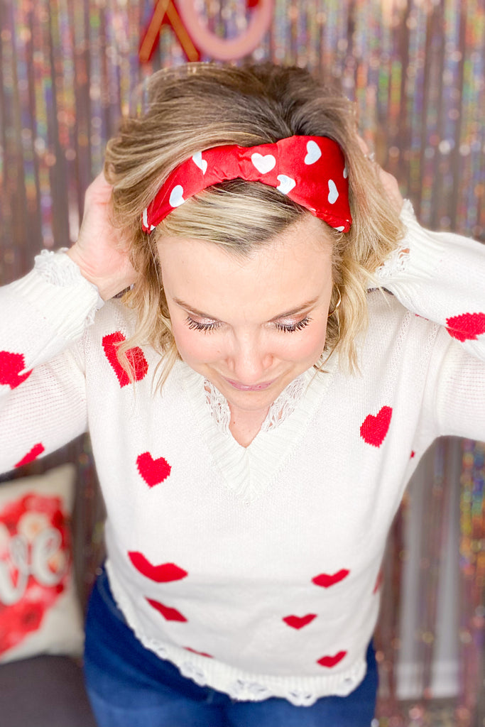 Stellar Star Patch Terry Sweatshirt - Chic Avenue Boutique