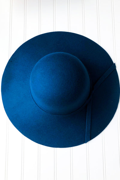 Felt Floppy Hat with Bow Knot- 4 Colors! - Chic Avenue Boutique