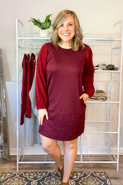 Holly Days Shift Dress - 2 Colors!