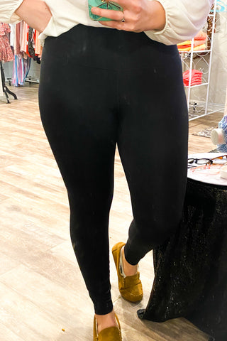 Made For You Black Leggings