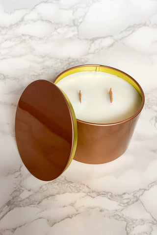 Chicwood Candle Co. Rose Gold Tin