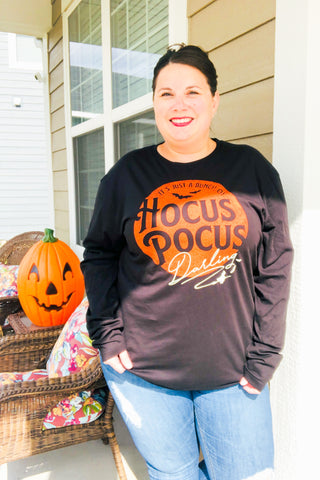 A Bunch Of Hocus Pocus Long-Sleeve Tee