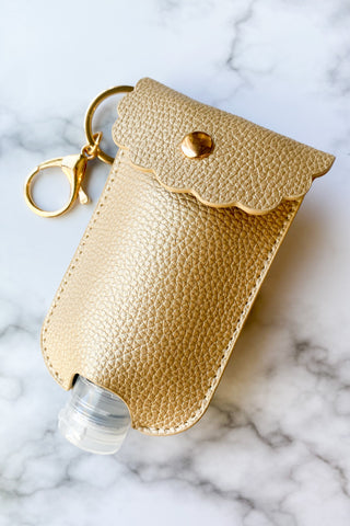 Hand Sanitizer Holder Keyrings - Chic Avenue Boutique