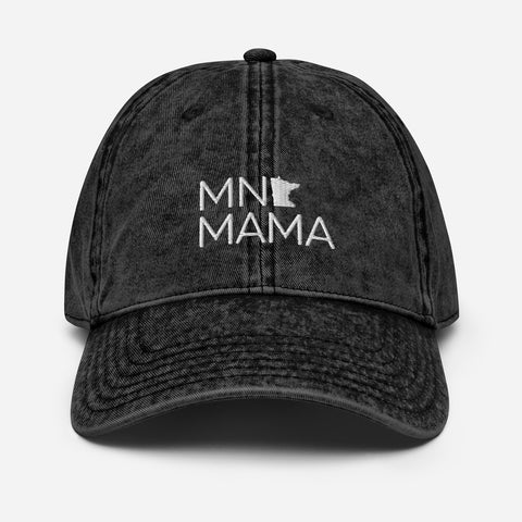 MN MAMA Vintage Cotton Twill Cap