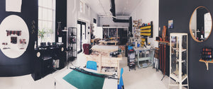 custom fine leather workshop and open studio shop