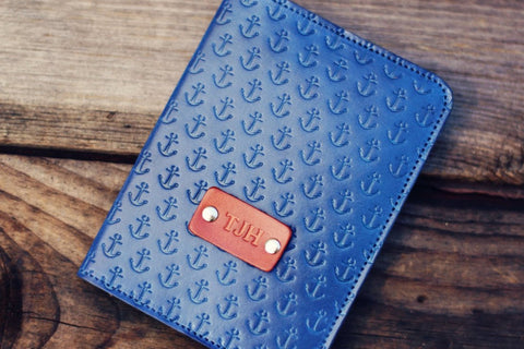Passport Cover, Anchor pattern