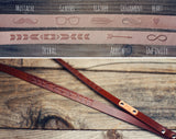 Custom Leather Lanyard, Tribal