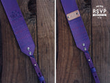 Custom Leather Camera Strap, Tribal