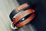 Huge SALE! Leather Dog Collar, Personalized