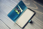 iPhone leather Case, Crossbody Purse Strap