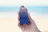 Leather Luggage Tag, Keychain, OMBRE GRADIENT