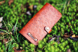 Personalized iPhone Case, Card Slot, Handmade Wallet