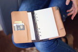 Personalized Leather Organizer Agenda, Notebook, Diary, Journal, planner
