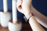 Apple Watchband, Bohemian Blush Pink floral