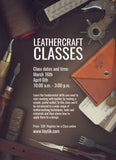 LEATHERCRAFT CLASSES