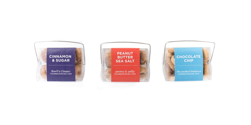 BEST SELLING COOKIES: TO-GO GIFT TRIO