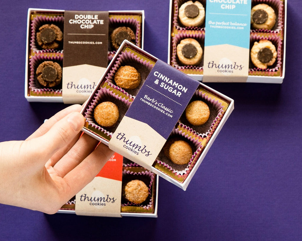 THUMBS COOKIES SUBSCRIPTION: $12/MONTH