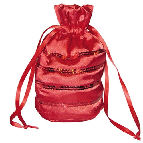 Girls Fancy Dress Red Ballgown Bag Accessory