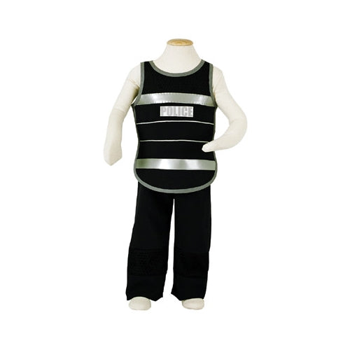 Police Dressing Up outfit Fancy Dress 3-5 years - Kiddymania