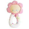Alimrose Flower Grab Rattle - Kiddymania Rag Dolls