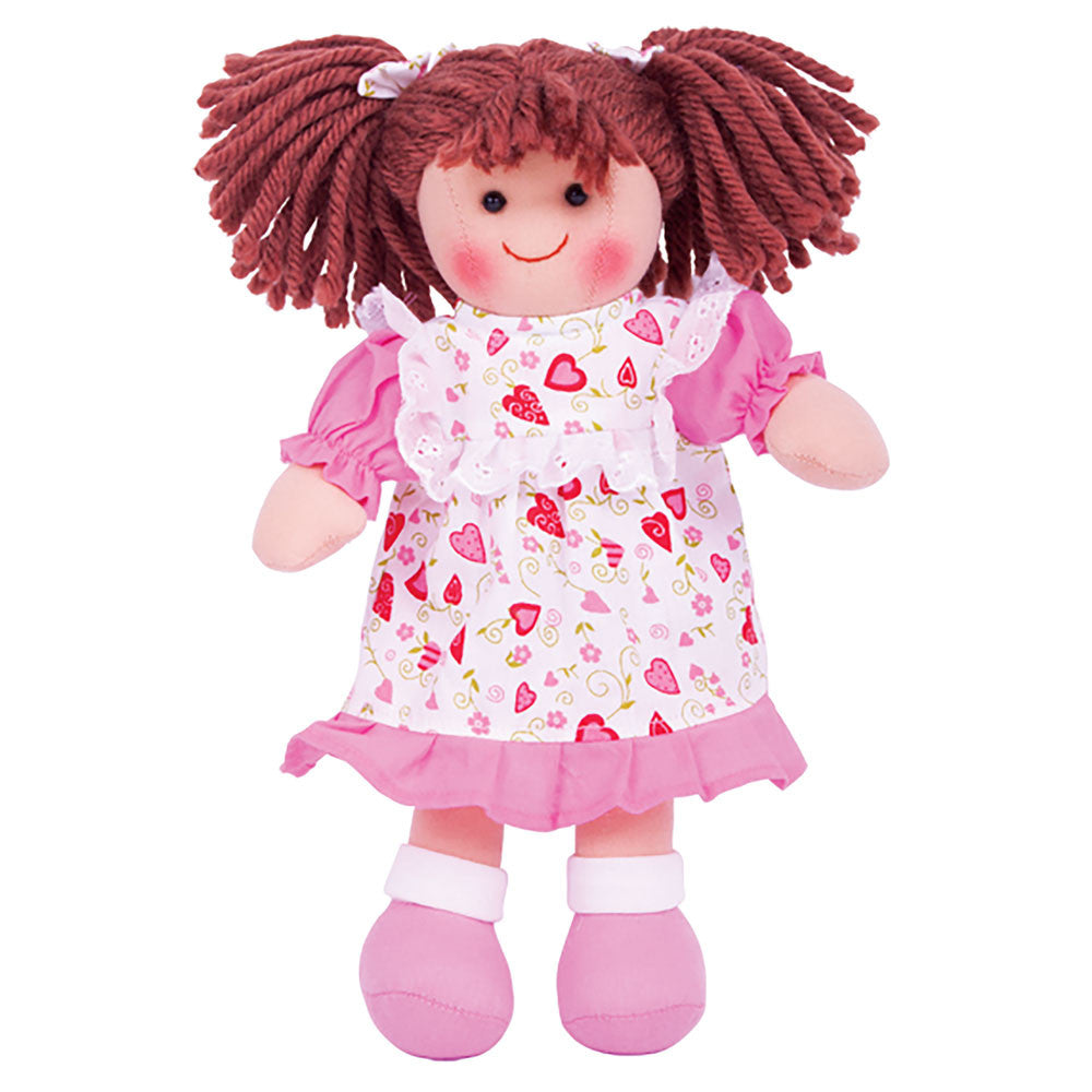 Bigjigs ragdoll Amy