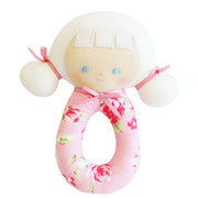 Audrey Grab Rattle - Kiddymania Rag Dolls