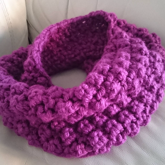 Hand Crafted Bramble Snood