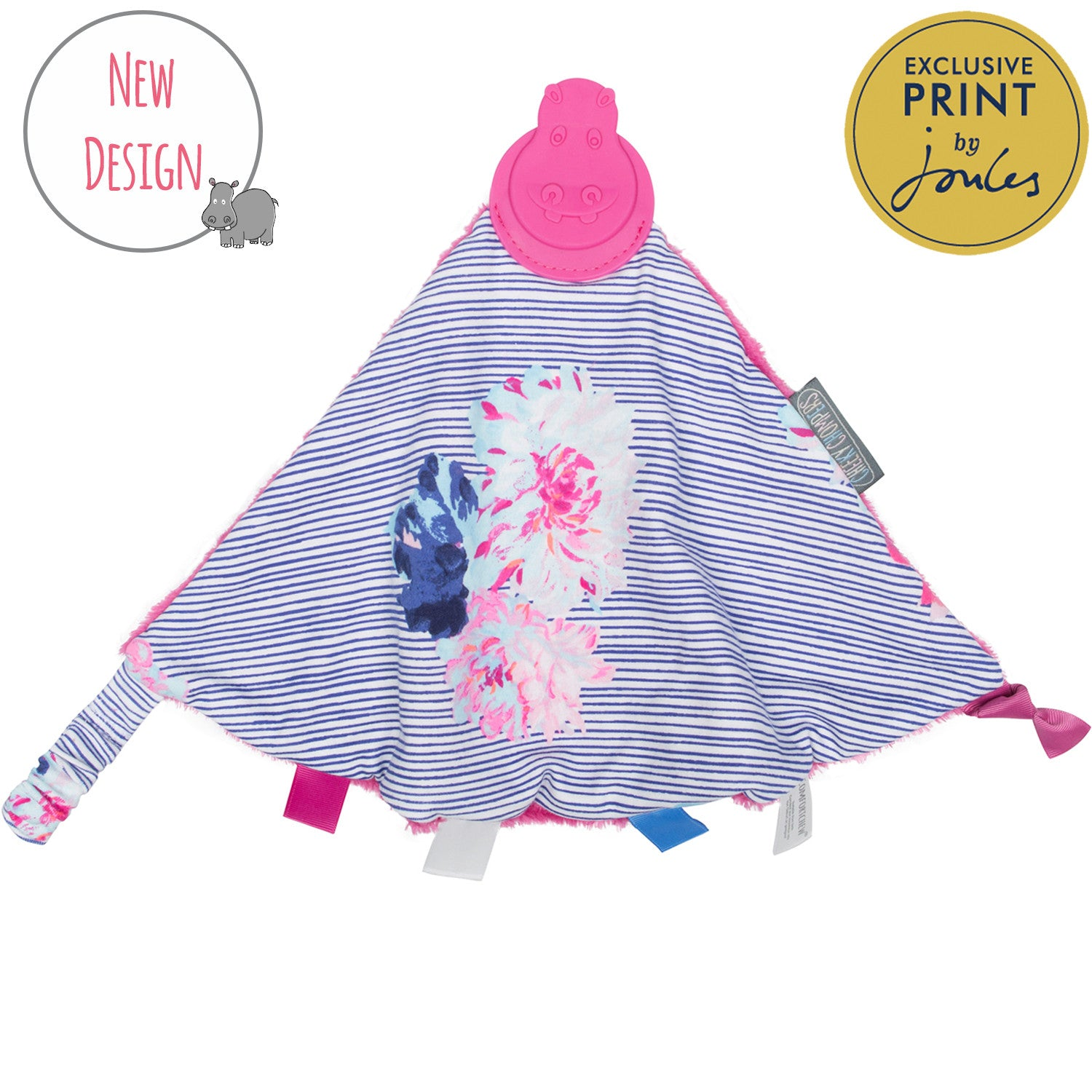 Joules Floral Stripe Comfortchew