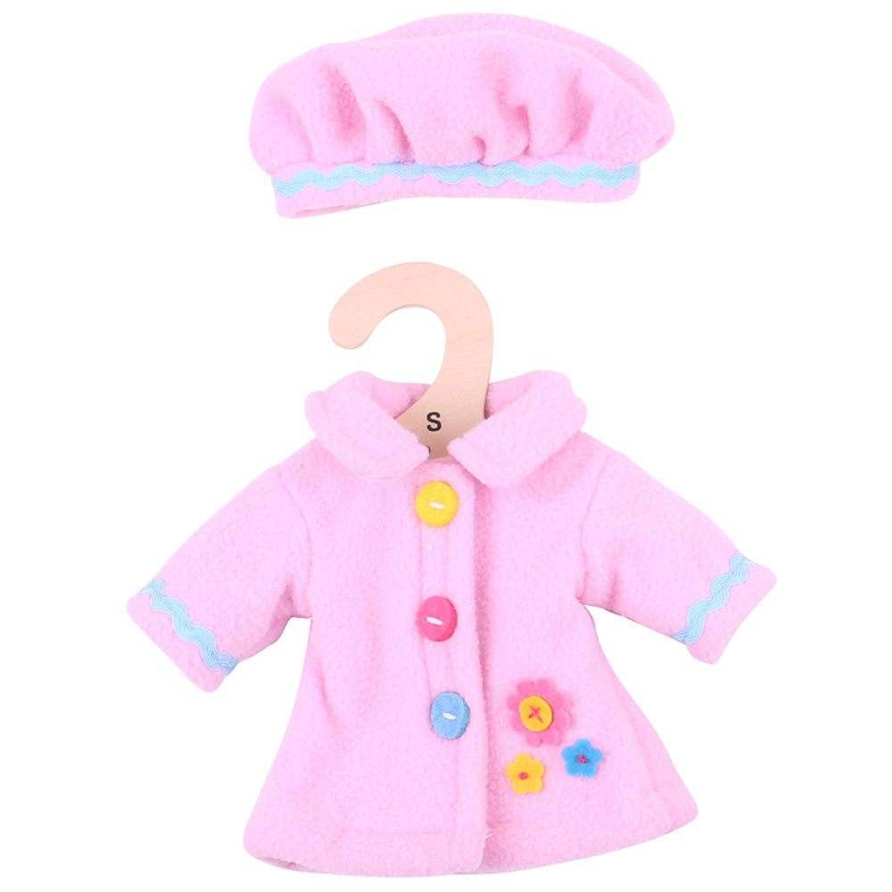 Pink Hat and Coat 28 cm