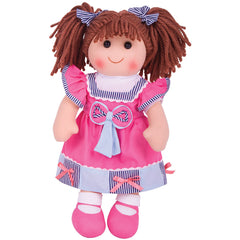 Emma Traditional Rag Doll 38 cm