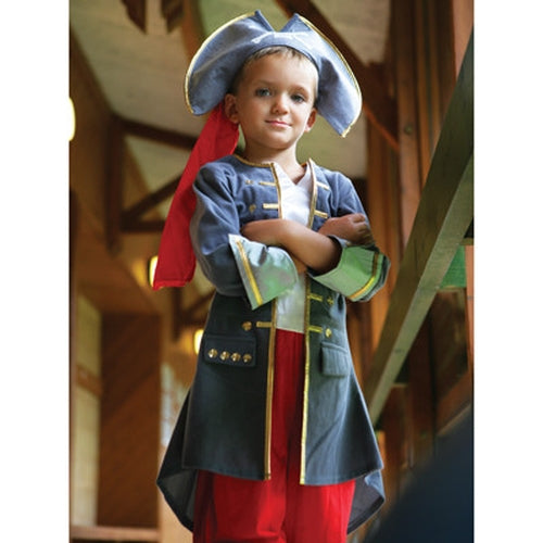 Captain Boys Fancy Dress-3-5 years - Kiddymania