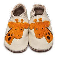 Inch Blue Giraffe Baby Shoes - Kiddymania Rag Dolls