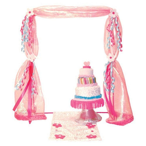 Groovy Girls Bride & Groom Canopy & Cake - Kiddymania